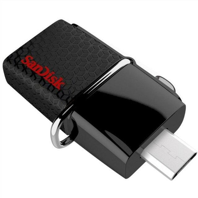 新帝 SanDisk 64GB Ultra Dual OTG USB3.0 隨身碟130MB/s SDDD2-064G-GAM46★★★全新原廠公司貨含稅附發票★★★