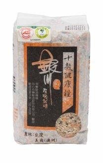銀川有機十穀健康糧(十穀米)900g--來自花蓮的米 0