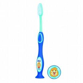 【淘氣寶寶】CHICCO 兒童成長牙刷-藍 3-6歲【針對3-6歲兒童設計,陪伴寶貝快樂刷牙】