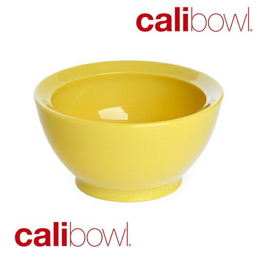 美國 CaliBowl 專利防漏防滑幼兒學習碗 8oz 黃色 *夏日微風*