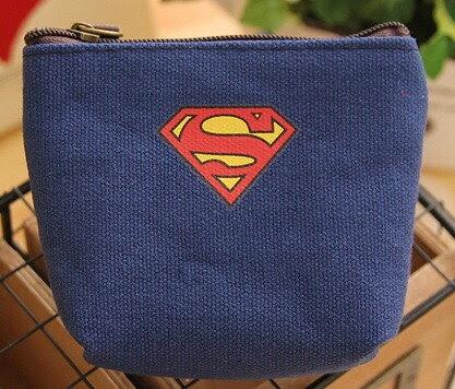 <br/><br/>  韓版創意英雄聯盟帆布零錢包鑰匙包-藍色<br/><br/>