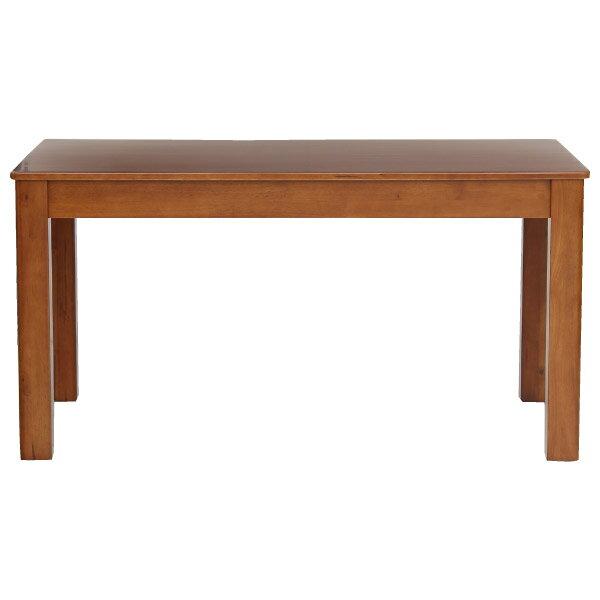 ◎(OUTLET)實木餐桌 比特#18T01(柚木色) 南洋檜木 福利品 NITORI宜得利家居 1