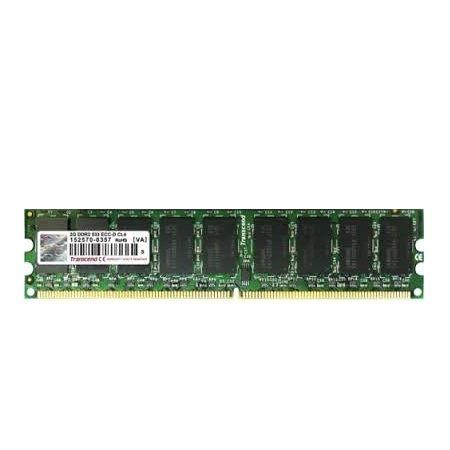*╯新風尚潮流╭*創見伺服器記憶體 1G ECC DDR2-667 單面 TS128MLQ72V6U