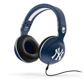 志達電子 S6HSFY-277 MLB Yankees Color Way 美國 Skullcandy hesh 2 可換線式 耳罩式耳機 for Android Apple