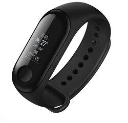 MIUI 小米手環3 智慧型手錶 防水 測試心率 睡眠 健康管理 20天續航能力 運動【台中恐龍電玩】