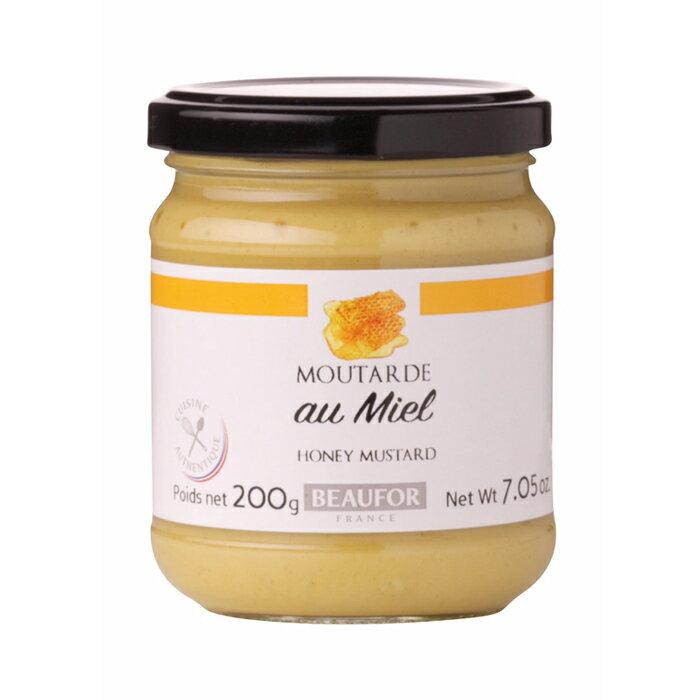 法國BEAUFOR 蜂蜜芥末醬 200g/瓶★全店超取滿599免運