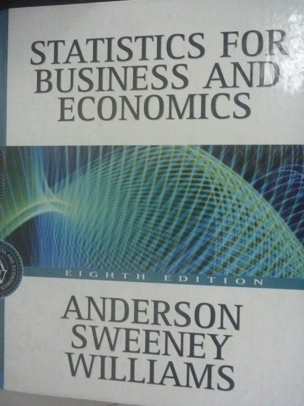 ~書寶 書T7/大學商學_ZAJ~Statistics for Business and