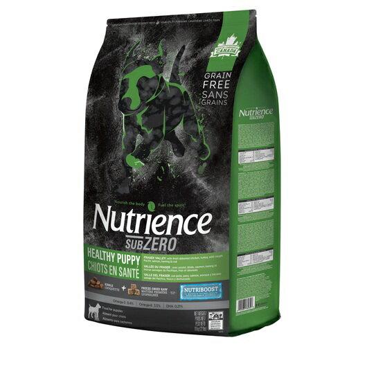 Nutrience 紐崔斯SUBZERO頂級無穀幼母犬+凍乾-火雞+雞+鮭魚2.27kg Grain Free無穀養生系列