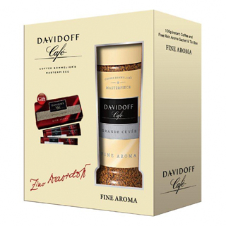 【DAVIDOFF】大衛杜夫經典即溶咖啡100g單入禮盒(香醇 Fine Aroma)