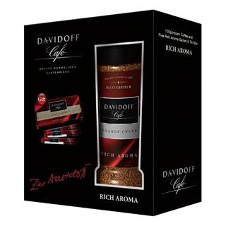 【DAVIDOFF】大衛杜夫經典即溶咖啡100g單入禮盒(濃郁 Rich Aroma)