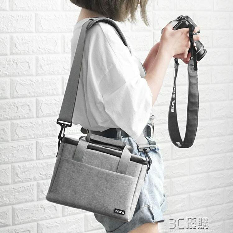 包納單反相機包數碼攝影鏡頭包單肩包休閒便攜佳能EOS尼康NIKON索尼微單包防