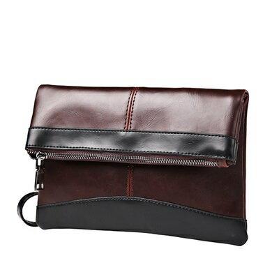 手拿包折疊信封包-紳士商務文件復古男包包2色73sd37【獨家進口】【米蘭精品】 0