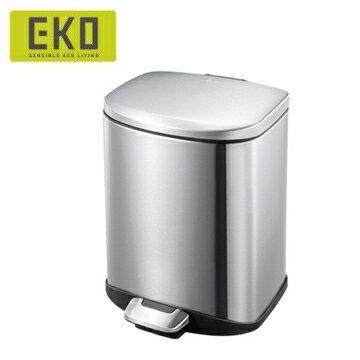 【HOME WORKING】EKO 迪萊靜音垃圾桶-6L