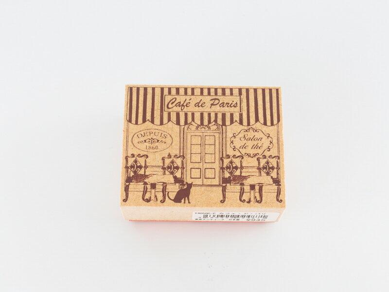 *小徑文化*日本進口手作雑貨 TOKYO ANTIQUE stamp - カフェ・ド・パリ ( Y4050C-P )