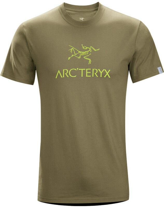 Arcteryx 始祖鳥/品牌T恤/穿搭/短袖棉T 17044 Arc'word-T-Shirt 男款 盤古褐