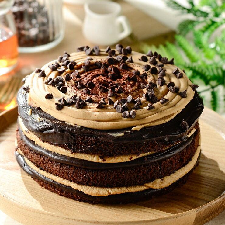 焦糖生巧克力蛋糕❤️ 6吋