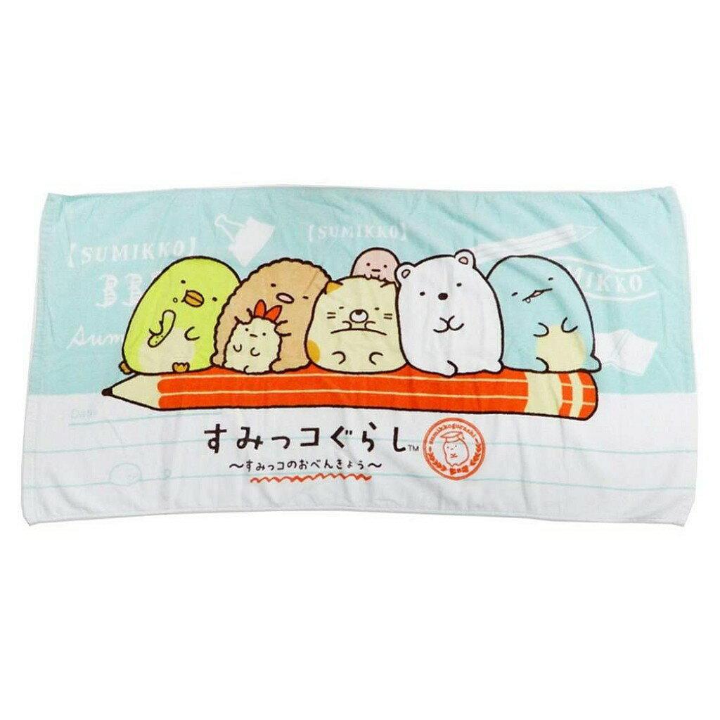 【積文館】浴巾 日本進口 角落小生物 角落公仔 輕薄(120*60cm) 0