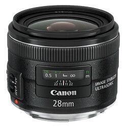 ◎相機專家◎ Canon EF 28mm F2.8 IS USM 彩虹公司貨 全新彩盒裝