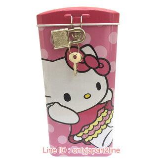 【真愛日本】17020400009附鎖直式存錢筒-KT  三麗鷗 Hello Kitty 凱蒂貓  撲滿 儲蓄筒
