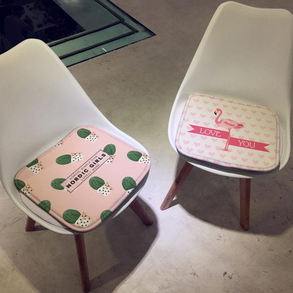 時尚簡約四季沙發墊加厚坐墊3辦公室學生椅墊餐椅墊