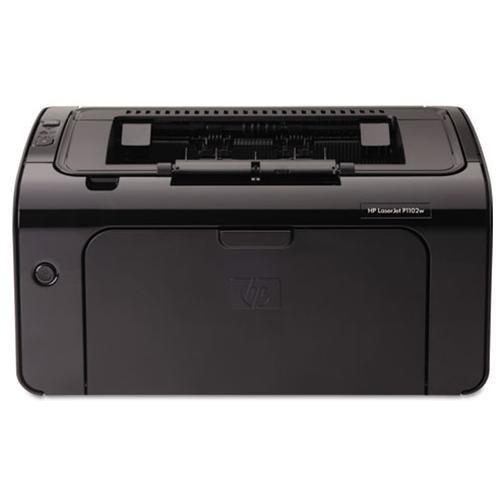 HP LaserJet Pro P1102W Laser Printer - Monochrome - 600 x 600 dpi Print - Plain Paper Print - Desktop - 19 ppm Mono Print - A4, A5, A6, B5, Postcard, C5 Envelope, DL Envelope, B5 Envelope, Legal, Custom Size - 150 sheets Standard Input Capacity - 5000 Dut 2