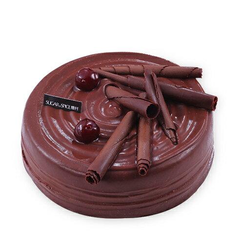 【糖村SUGAR & SPICE】貝里斯櫻桃巧克力蛋糕 (6吋) ❤母親節蛋糕推薦