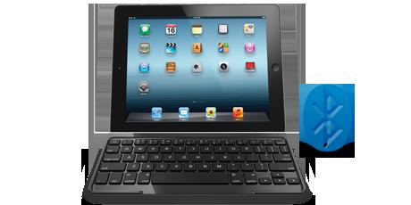 羅技 iPad mini 超薄鍵盤保護殼 黑色款