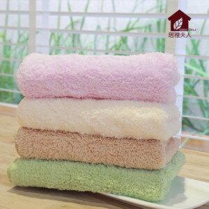 【居裡夫人】柔膚超吸水力賦活巾-毛巾 《全家福四入組》