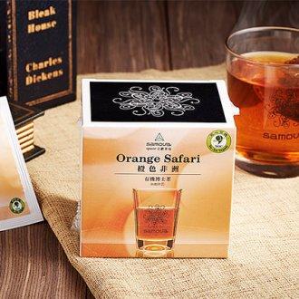 橙色非洲~有機博士茶^(立體茶包10入^)~帶紅茶香與濃郁香草莢風味: : 南非國寶茶 ^