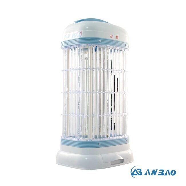 <br/><br/>  電擊網特大,誘蚊面積寬廣~安寶10W捕蚊燈 AB-8255<br/><br/>