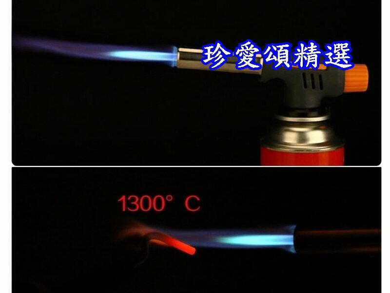 【珍愛頌】K011 電子點火瓦斯噴槍 1300度C 電子式點火噴槍 卡式瓦斯噴槍頭 點火槍 瓦斯噴槍 噴燈 噴火槍 烤肉