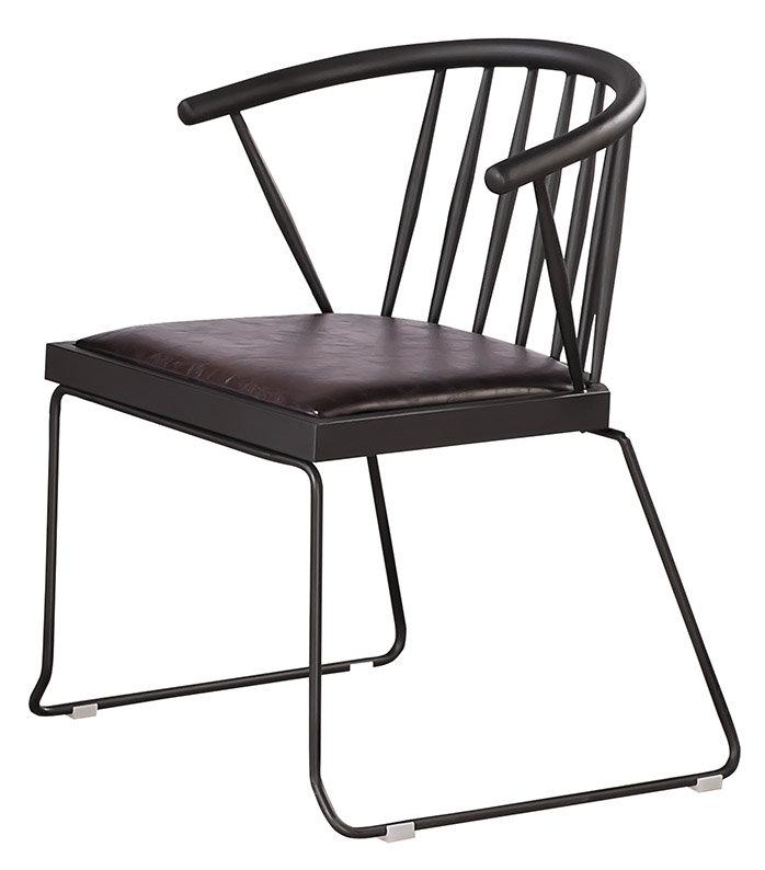 【石川家居】CE-454-15 伯特工業風餐椅 (不含餐桌與其他商品)