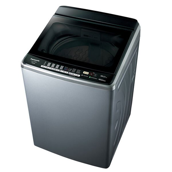 Panasonic 國際牌 17公斤 ECONAVI變頻洗衣機 nanoe抑菌 泡洗淨 衣物不糾結 NA-V188DBS-S(不鏽鋼色)