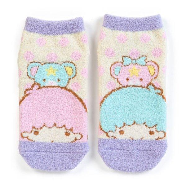 【真愛日本】18091400015韓國製短襪-TS彩熊粉點米ADI雙子星kikilala短襪襪子