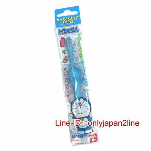 【真愛日本】16121400012日本製造型兒童牙刷-叮噹  Doraemon 哆啦A夢 小叮噹 日本限定 精品百貨 日本帶回