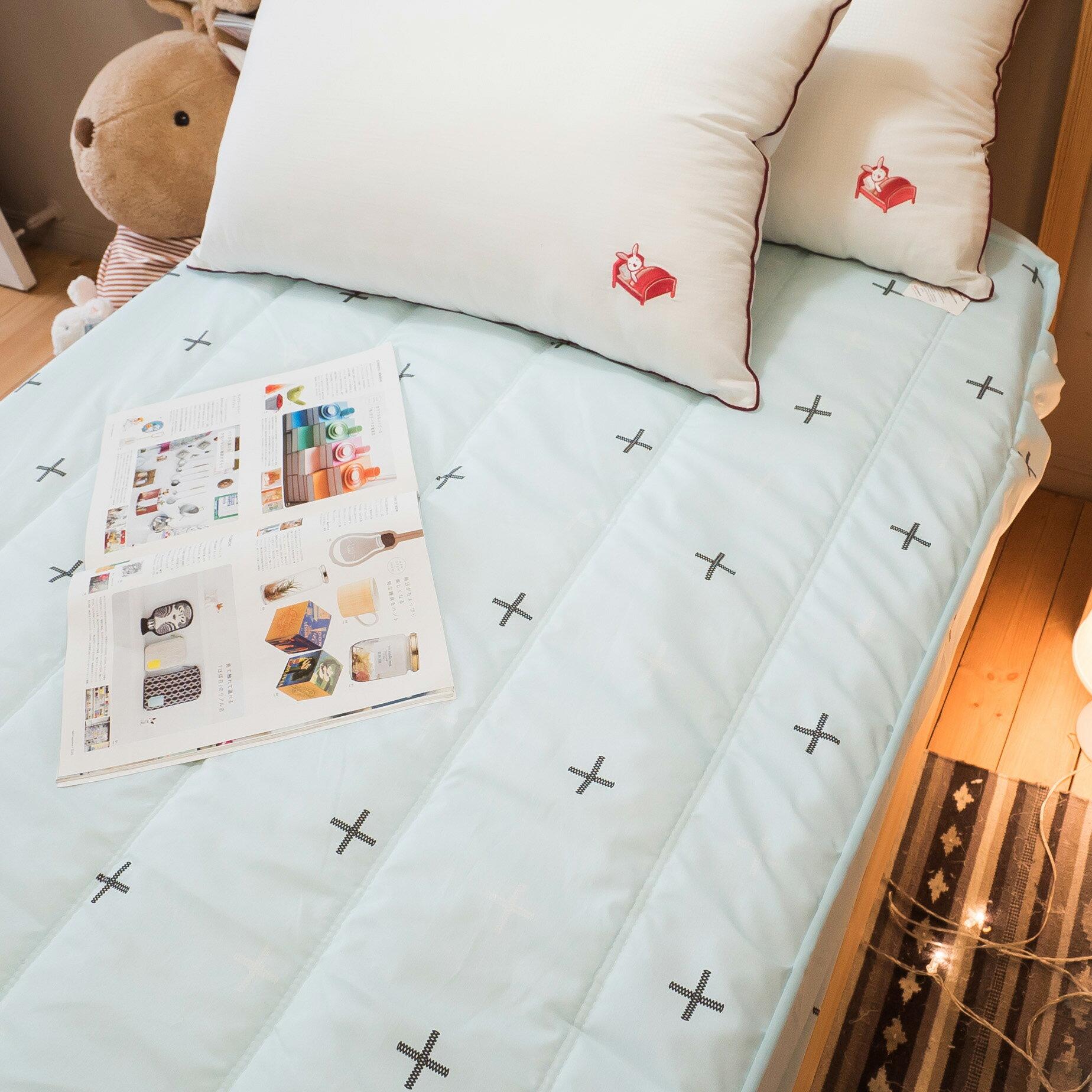 【綠十字】床包式保潔墊(尺寸可選)抗菌防污 台灣製 厚實鋪棉 可水洗 好窩生活節 6