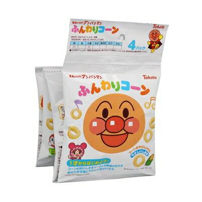 Bandai萬代麵包超人4連玉米脆餅-鹽味(28g)