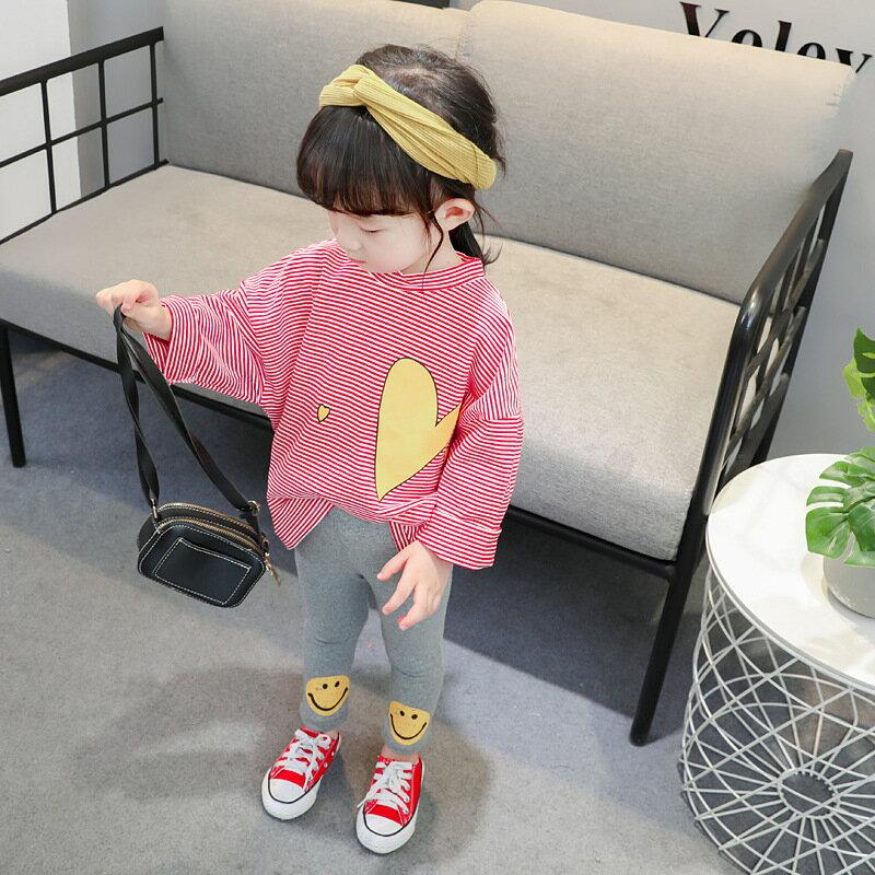 嬰幼兒長袖春秋款女寶寶童裝甜美時尚2021新款女童衣服二件套0-4