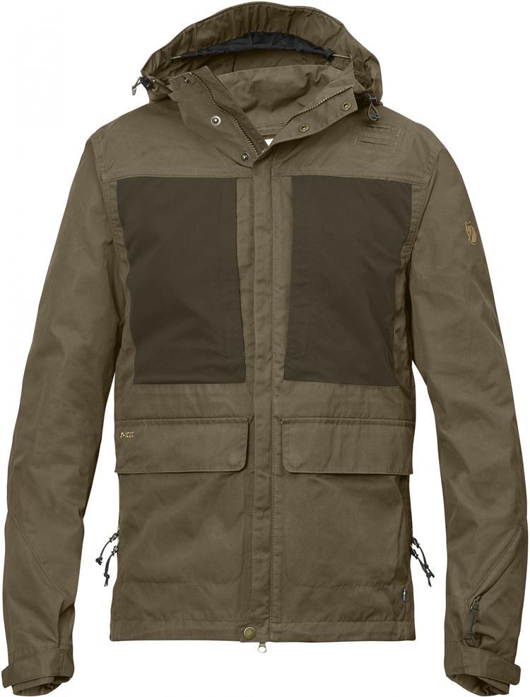 Fjallraven 瑞典北極狐 薄軟殼衣  軍裝夾克  狩獵外套  多口袋獵裝風衣 La