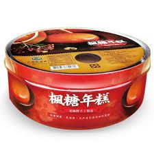 美纖小舖:綠源寶楓糖年糕600g盒限年節才有賣