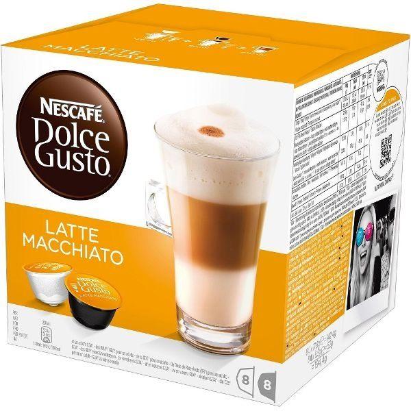 雀巢拿鐵咖啡膠囊(LatteMacchiato)16顆盒