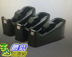[COSCO代購 如果售完謹致歉意] 手牌桌上型膠帶台(黑) X 3入 _W115024