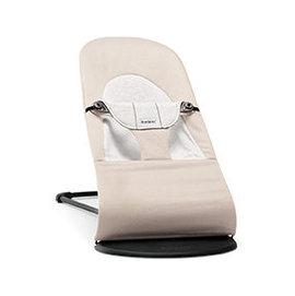 【淘氣寶寶】瑞典 BabyBjorn Bouncer Balance Soft 柔軟彈彈椅-米白【彈彈椅自然擺動不需使用電池/符合人體工學】【正品】