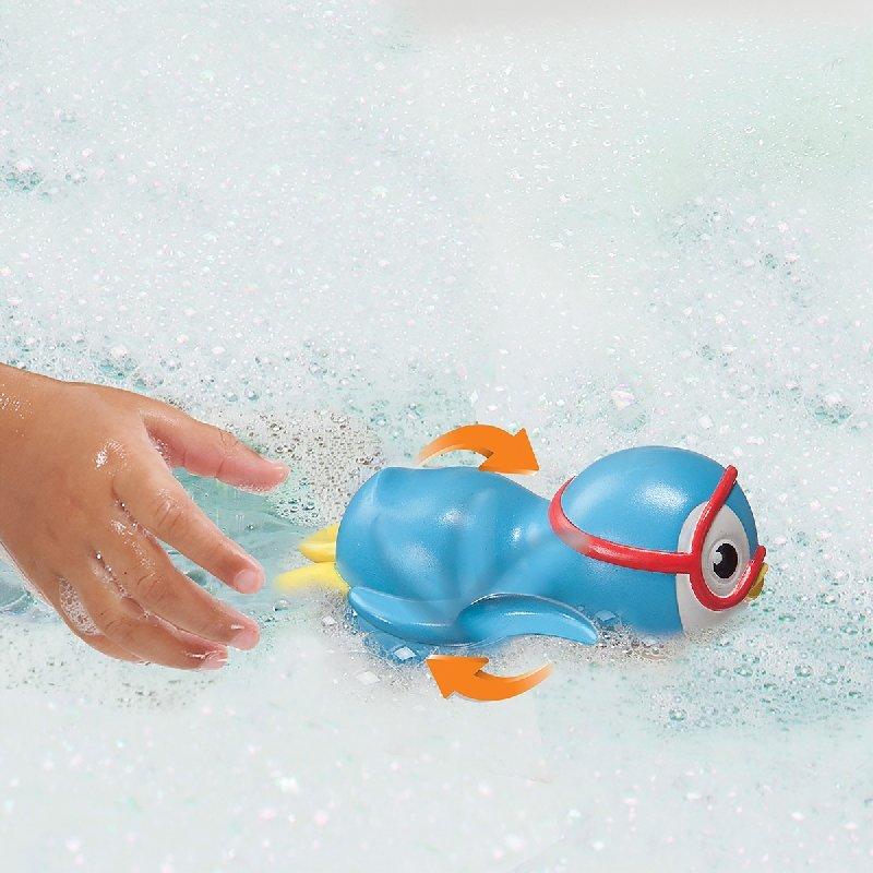 munchkin滿趣健游泳企鵝洗澡玩具(藍 MNB44925B ) 200元