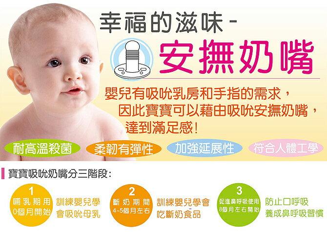 『121婦嬰用品館』辛巴 去舌苔安撫奶嘴 (較大) 2