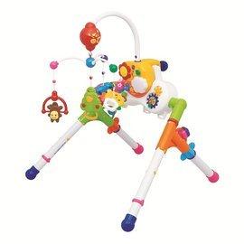 『121婦嬰用品館』樂雅  五用床邊音樂鈴健力架組 0