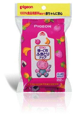 日本【Pigeon 貝親】手口濕紙巾補充包 (22抽/包)