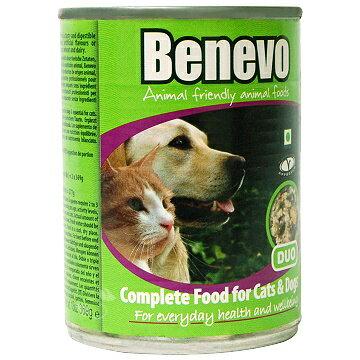 《Benevo 班尼佛》素食犬貓罐頭 含植物牛磺酸