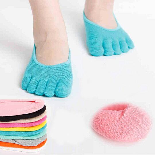 舒適輕柔隱形五指襪