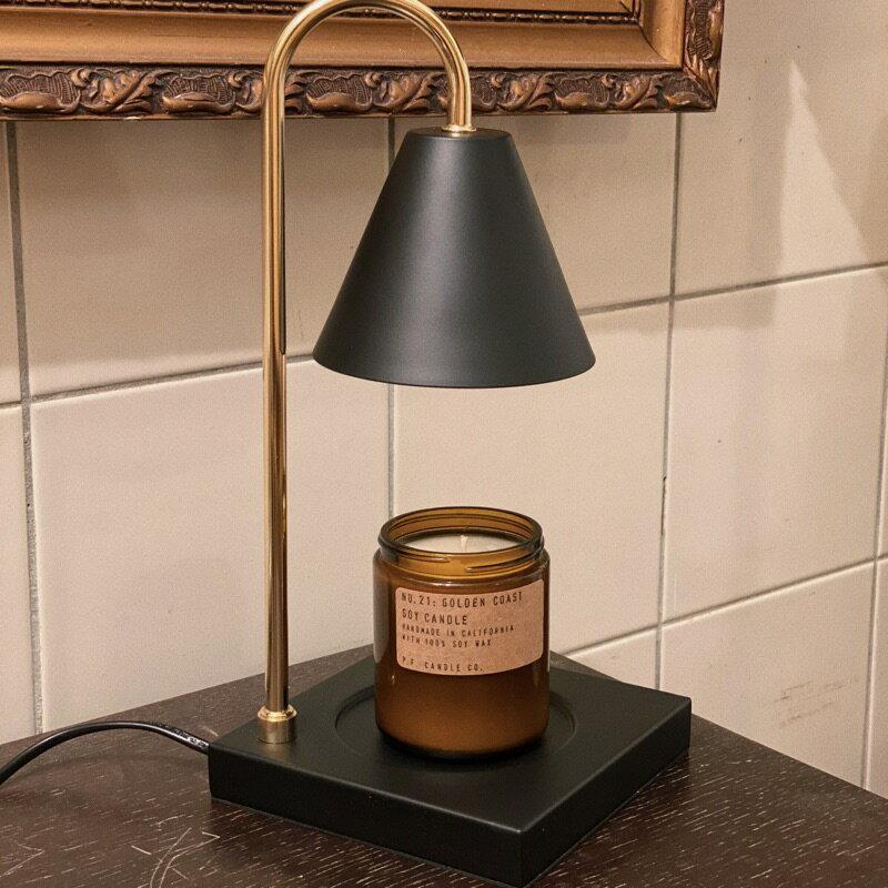 現貨 ! 送2個燈泡 金屬底座 融蠟燈 蠟燭燈 融燭燈 香氛 蠟燭 持香 催香 安全不用點火